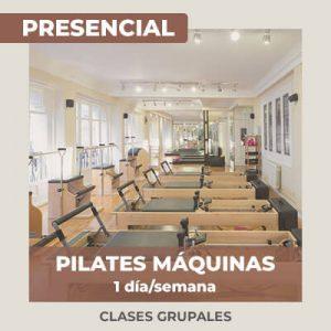 Pilates Máquinas Grupales (1 día/semana) – Tarifa Mensual